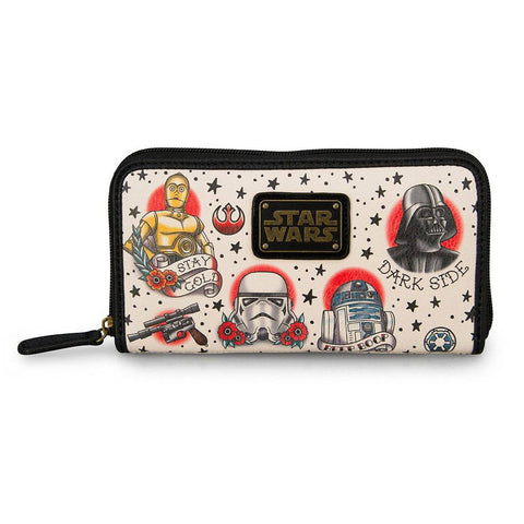 Loungefly x Star Wars Tattoo Print Purse