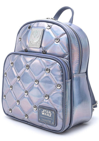 Loungefly X Star Wars Empire Strikes Back 40th Anniversary Hoth Iridescent Mini Backpack