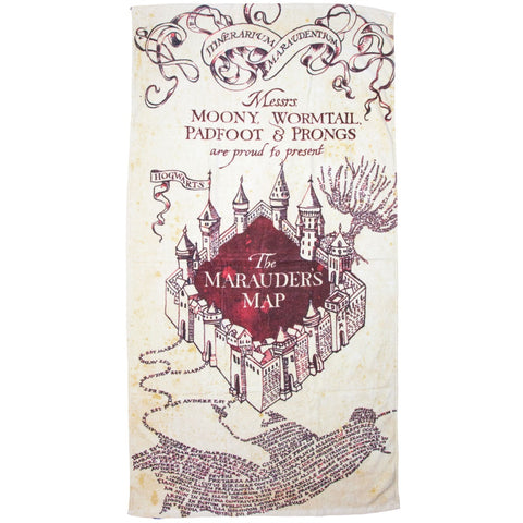 Harry Potter Marauder's Map Towel