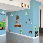 Super Mario Bros. Re-Stik Wall Decals