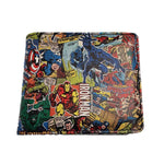Marvel Allover Print Retro Comic-Style Wallet