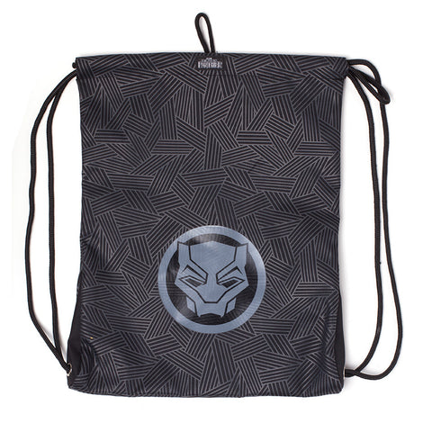 Marvel Black Panther Drawstring Gym bag