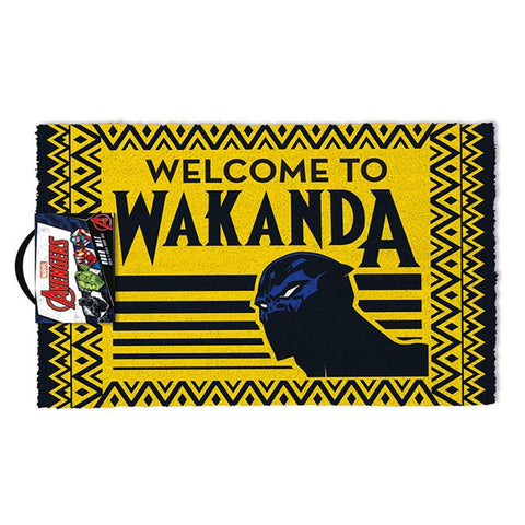 Marvel Black Panther Welcome to Wakanda Coir Doormat
