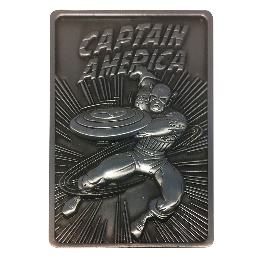 Marvel Captain America Limited Edition Ingot