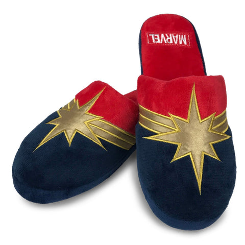 Marvel Captain Marvel Ladies Mule Slippers
