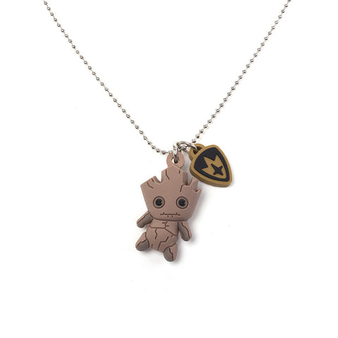 Marvel Guardians of the Galaxy 3D Groot Kawaii Necklace