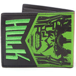 Marvel Thor and The Hulk Embroidered Bi-Fold Wallet