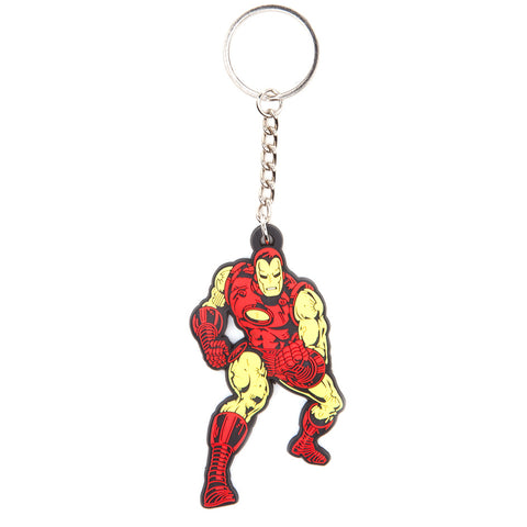 Marvel Iron Man Character Rubber Key Chain
