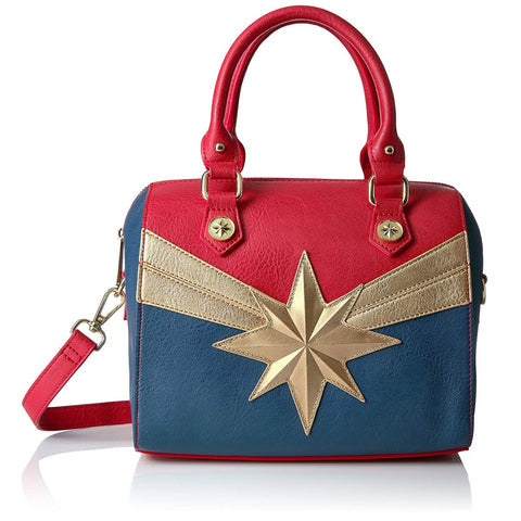 Loungefly x Marvel Captain Marvel Crossbody Handbag
