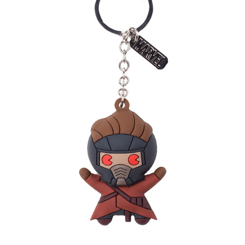 Marvel Peter Quill 3D Rubber Key Chain