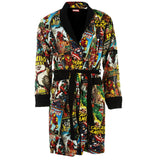 Marvel Reversible Comic Strip Bath Robe