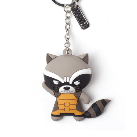 Marvel Rocket Raccoon 3D Rubber Key Chain