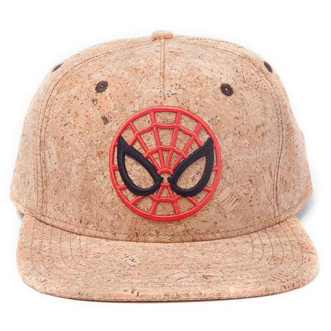 Marvel Spider-Man Cork Snapback Cap