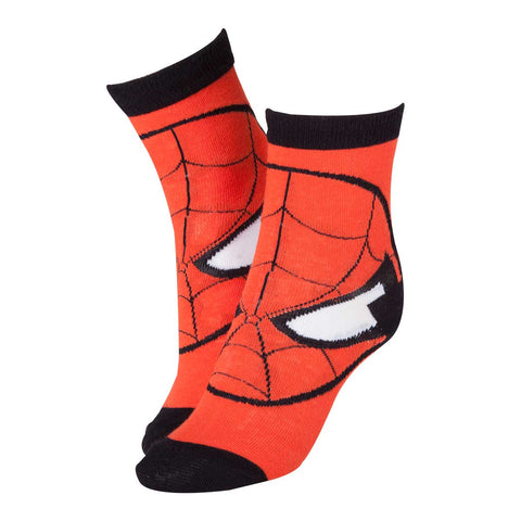 Marvel Spider-Man Mask Red Socks