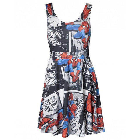 Marvel Spider-Man Skater Dress