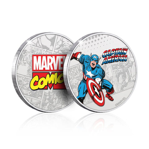 Marvel Captain America Collector's Coin