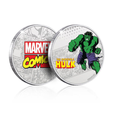 Marvel Hulk Collector's Coin