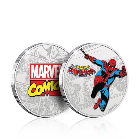 Marvel Spider-Man Collector's Coin