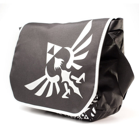 Nintendo The Legend of Zelda Black Messenger Bag