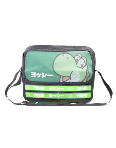 Super Mario Yoshi Taped Messenger Bag