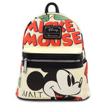 Loungefly x Disney Mickey Classic Print Mini Backpack