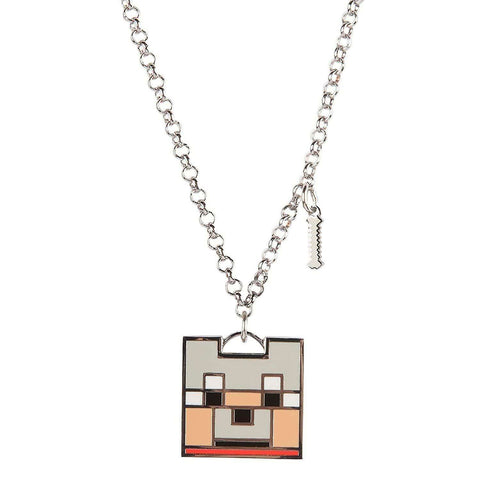 Minecraft Enchanted Wolf Pendant Necklace