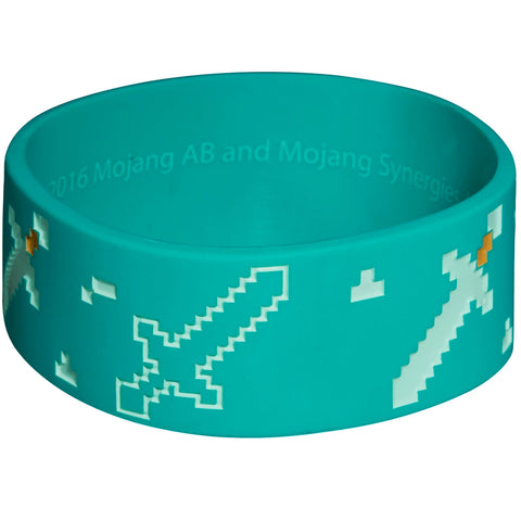 Minecraft Explorer Rubber Bracelet