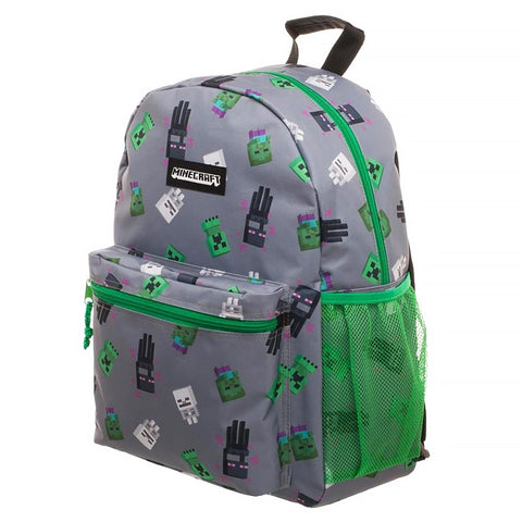 Minecraft Mob Print Backpack