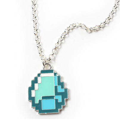Official Minecraft Diamond Pendant Necklace