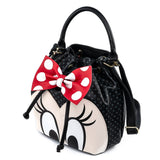Loungefly x Disney Minnie Mouse Bow Bucket Bag