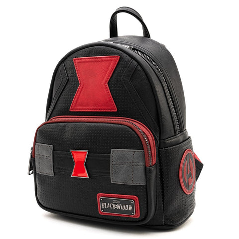 Loungefly X Marvel Black Widow Cosplay Mini Backpack
