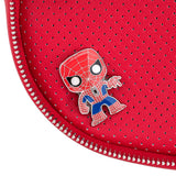 Pop! by Loungefly x Marvel Spider-Man Pin Collector Crossbody Bag