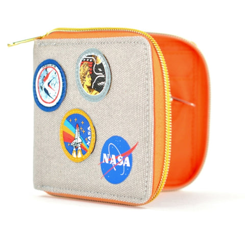 NASA Canvas Wallet