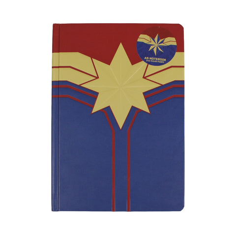 Captain Marvel A5 Notebook
