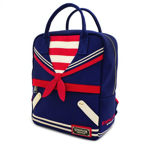 Loungefly X Stranger Things Scoops Ahoy Canvas Backpack