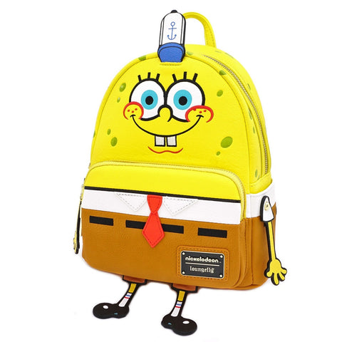 Loungefly x Nickelodeon SpongeBob Squarepants 20th Anniversary Mini Backpack