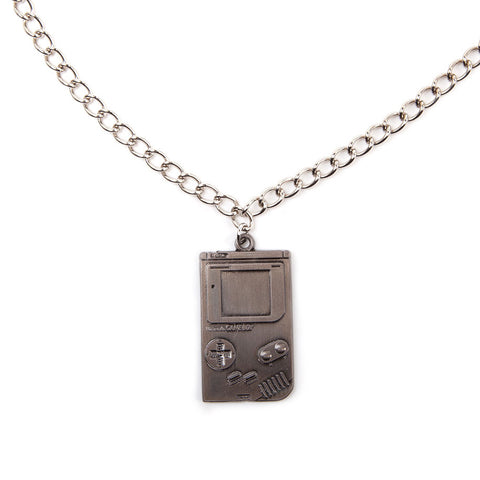 Nintendo Game Boy Pendant Necklace