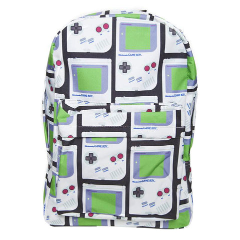 Nintendo Gameboy Print Backpack
