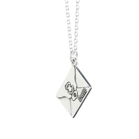 Harry Potter Hogwarts Acceptance Letter Sterling Silver Charm Necklace