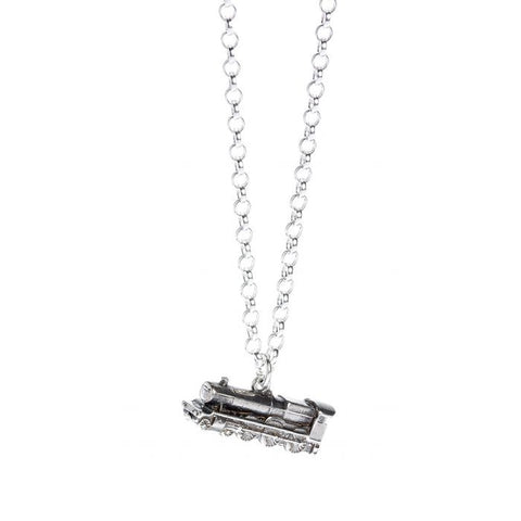 Harry Potter Hogwarts Express Sterling Silver Necklace