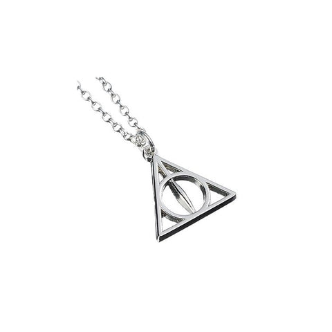 Harry Potter Deathly Hallows Sterling Silver Necklace