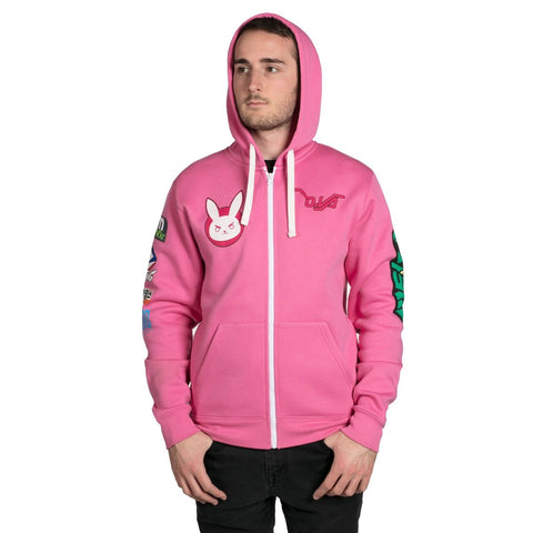 Overwatch D.Va Zip-Up Hoodie