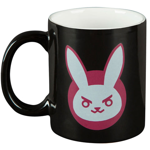 Overwatch D.Va Bunny Black Ceramic Mug