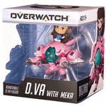 Overwatch D.Va with MEKA Cute But Deadly Figure