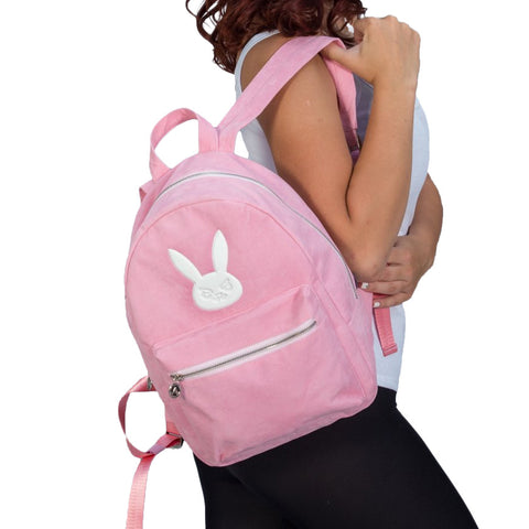 Overwatch D.Va Hero Velvet Backpack
