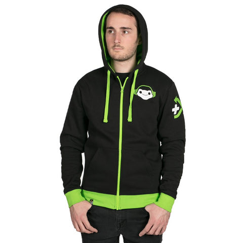 Overwatch Lucio Zip-Up Hoodie