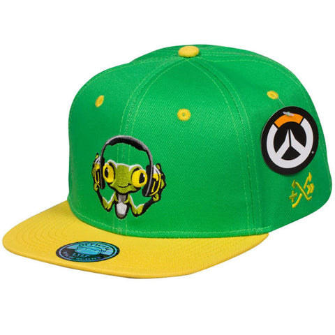 Overwatch Lucio Frog Decal Snapback Hat