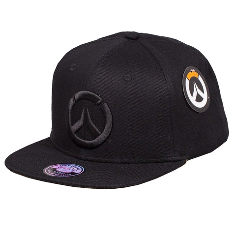 Overwatch Stealth Black Snapback Hat