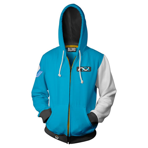 Overwatch Symmetra Zip-Up Hoodie
