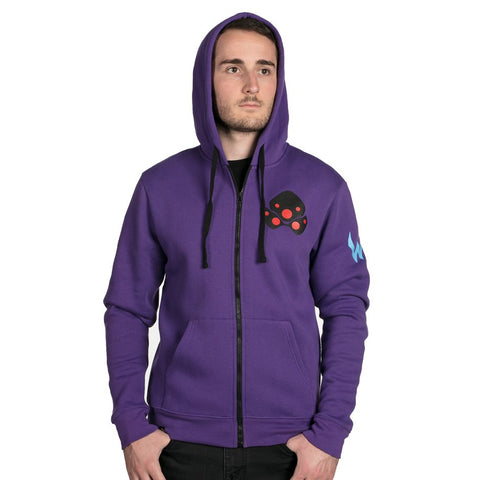 Overwatch Widowmaker Zip-Up Hoodie